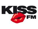 Logo de la emisora Kiss FM