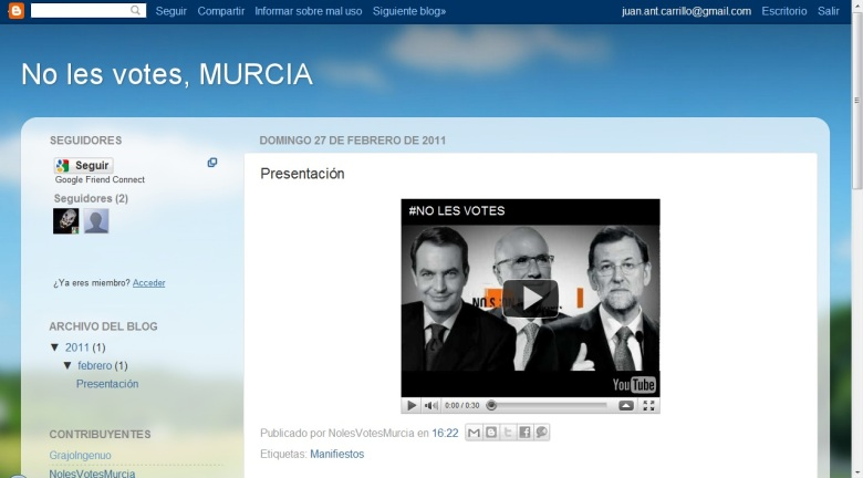 No les votes Murcia